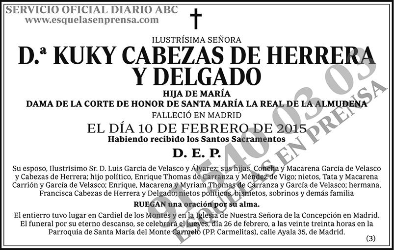 Kuky Cabezas de Herrera y Delgado